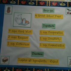 Back to school bulletin board. AIL Product: Books in Clay Border (CTP1821)