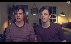 Totally don't know what to say... xD  Connor Franta & Caspar Lee
