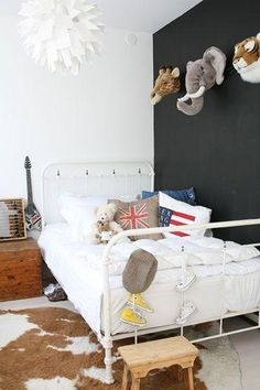 Decorar con animales los dormitorios infantiles