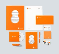 Junior Eight public youth organization identity by TomatDesign.