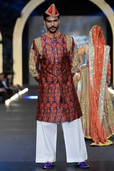Nomi Ansari sherwani at PFDC L'Oreal Paris Bridal Week 2013