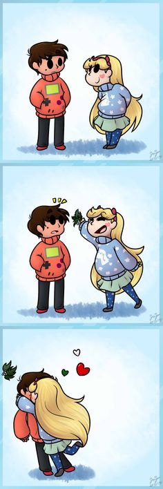 The old mistletoe cliche by Jojodear on DeviantArt