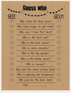 Whatever they said about bridal shower decorations Rustic Diy-D . Whatever they said about bridal shower decorations Rustic Diy-D . - Whatever they said about bridal shower decorations, rustic DIY decor is absolutely wrong … and he - Couple Shower Games, Couples Wedding Shower Games, Wedding Couples, Rustic Wedding Games, Wedding Favors, Couple Games, Wedding Invitations, Bride And Groom Wedding Games, Games For Bridal Shower
