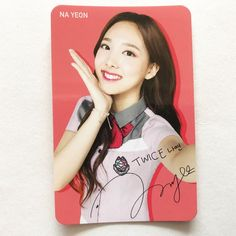 TWICE 트와이스 x Skoolooks Promotional Official Photocard Version 1 Na Yeon