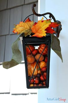 Simple Fall Decorating Ideas for the Front Porch, on the side bar of this link is an awesome tutorial on making a vintage mercury glass mirror