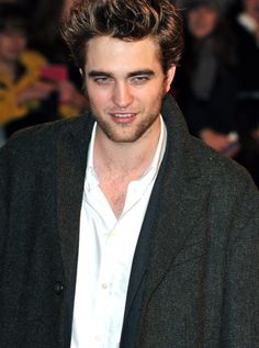 Robert Pattinson has great hair.