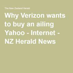 Why Verizon wants to buy an ailing Yahoo - Internet - NZ Herald News