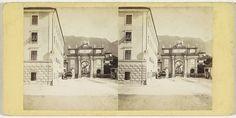 Johann Friedrich Stiehm | Das Ruhmes-Thor in Innsbruck, Sudseite, Johann Friedrich Stiehm, E. Linde & Co, 1860 - 1880 |
