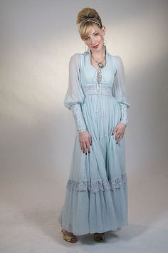 Gunne Sax  OH MY, I had this in a different color, used to love this brand!