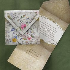 Florentine Tapestry Invitation - Wedding Invitation Ideas - Wedding Invites - Wedding Invitations - Create a FREE Proof Online - Discount Wedding Invitations, Garden Wedding Invitations, Rustic Invitations, Bridal Shower Invitations, Invitation Design, Wedding Stationery, Invitation Ideas, Summer Wedding Guests, Budget Wedding