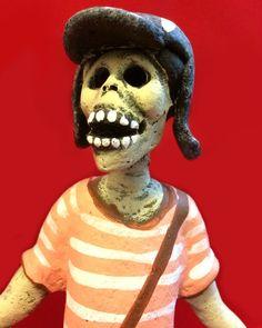 El Chavo del Ocho, Chespirito (TV series) Dia de los Muertos Skeleton,  Chespirito (TV series) Skeleton Roberto Gómez Bolaños.  Great skeleton for Day of the Dead or Halloween display.