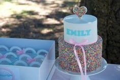 Ella  Sprinkles cake
