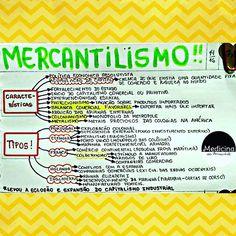 #HISTÓRIA #MERCANTILISMO #RESUMO  Também já está disponível para download no blog (RESUMOS ...