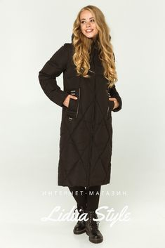 Купить пуховик черный 212-Ч LidiiaStyle Winter Jackets, Fashion, Winter Coats, Moda, La Mode, Fasion, Fashion Models, Trendy Fashion