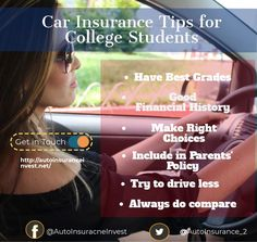 Car insurance is mandatory for all drivers in US. Finding Cheap Car insurance for college students isn't always easier. Ways College Students can Save on their Low Car Insurance, Car Quotes, Auto News, Good Grades, College Students, Canning, Blog, Blogging, Student