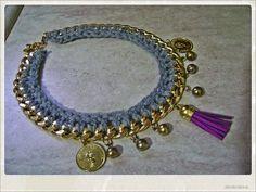 handmade necklace. .