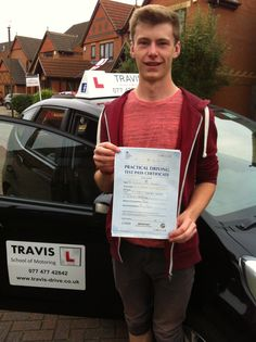 Josh passed first time in Bletchley. Safe driving in Milton Keynes.
