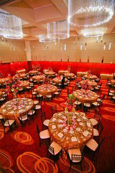 Four Seasons Hotel St. Louis Wedding Reception.