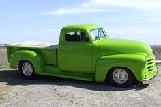 1952 Chevy Truck #ClassicCars #Vintage #CTins #Truck