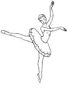 ballet disegni da colorare per adulti