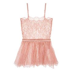 Zinke Quinn Cami featuring polyvore, women's fashion, clothing, intimates, camis, tops, lingerie, pijamas, lace camis, lacy lingerie, lacy cami, lace camisole and lacy camisole