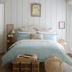 Christy Duck Egg 'Hampton' Bedding- at Debenhams.com
