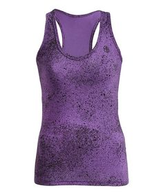 Take a look at this Orchid Cosmic Blast Racerback Tank by Zumba® on #zulily today!