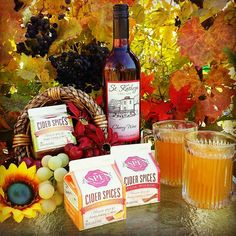 Keep your guests warm with mulled wine! Not only does this smell just like fall but it also tastes amazing! Palisade Colorado, Wine Brands, Mulled Wine, Mead, Served Up, Wine Making, Pomegranate, Wines, Blueberry