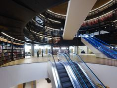 RIBA stirling prize shortlist 2014 includes library of birmingham by mecanoo Rem Koolhaas, Modern Library, Library Design, Library Plan, Patio Circular, Aldo Van Eyck, Birmingham Library, Library Architecture, British Architecture