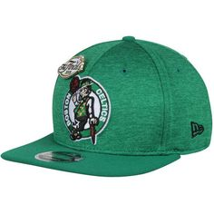 4d7a67505af Men s Boston Celtics New Era Heathered Kelly Green Pin Collection 9FIFTY  Adjustable Snapback Hat Pin Collection