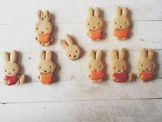 Non mais des cookies Miffy quoi ! ♥♥♥♥ poke @cococerise @lesjolieschoses @larcenette