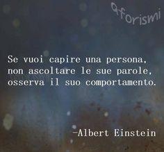 Frasi di Albert Einstein. Lo adoro.