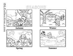 seasons worksheets - Google Search