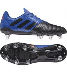 sports shoes 3fdc0 031c7 Adidas Kakari SG Rugby Boot - Collegiate Blue 2017 Adidas Rugby Boots,  Sport Online,