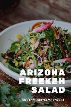 Arizona Freekeh Salad