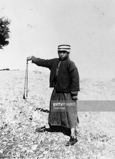 A shepherd boy with a sling, near the grazing fields outside Jerusalem.