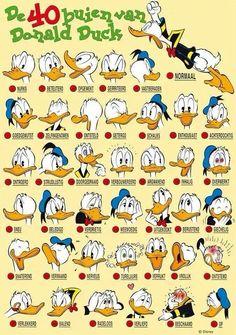 Onderwijs en zo voort ........: 1556. Emoties verwoorden : De 40 buien van Donald ...