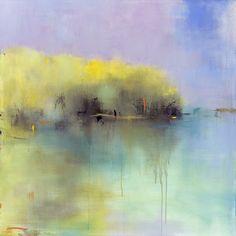 "Jacquie Gouveia; Acrylic 2014 Painting ""Sunlit Beginnings"""