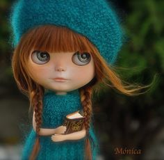 blythe doll by Mónica