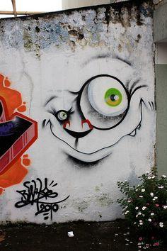 Grafitti Street, Murals Street Art, Graffiti Murals, Art Mural, Graffiti Artists, Graffiti Lettering, Urban Street Art, 3d Street Art, Street Artists