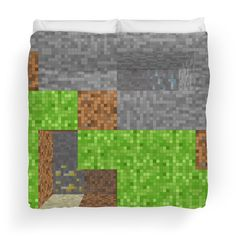 Minecraft Inspired Pixel Art Play Area