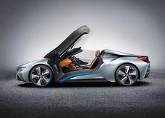 Belo conceito! BMW i8 Spyder Concept.