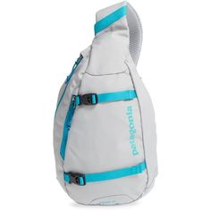 Women's Patagonia 'Atom' Sling Backpack ($49) ❤ liked on Polyvore featuring bags, backpacks, black, day pack backpack, checkered backpack, shoulder strap backpack, backpack sling bag and patagonia backpacks