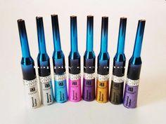 8 PCs Santee Diamond Liquid Glitter Eyeliners Full Set of 8 Colors - US SELLER #Santee