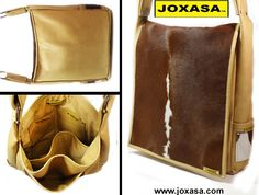 Joxasa calf hide messenger.