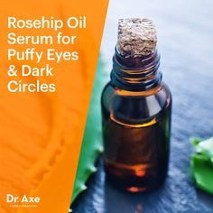 Rosehip Oil Eye Serum for Dark Circles + Puffiness - Dr. Axe