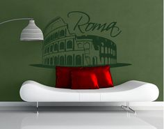 Rome Colosseum wall decal
