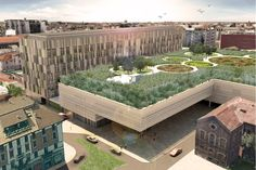 OSPEDALE MAGGIORE POLICLINICO The project works and on the city centre, introducing a different conception of hospital, from the actual one,...