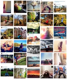 Why I love and don't love (not hate) Instagram yoga challenges