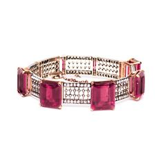 Victorian Pink Tourmaline Bracelet - Fine Jewelry